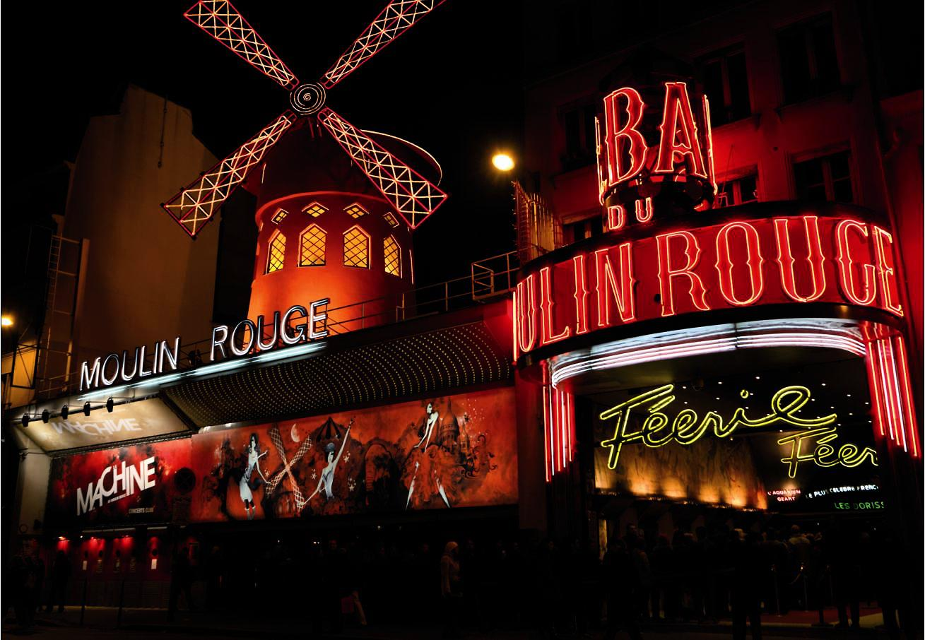 Le moulin rouge paris france
